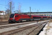 ÖBB Railjet in Freilassing