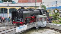 Dampflokomotive 01 2066 in Freilassing